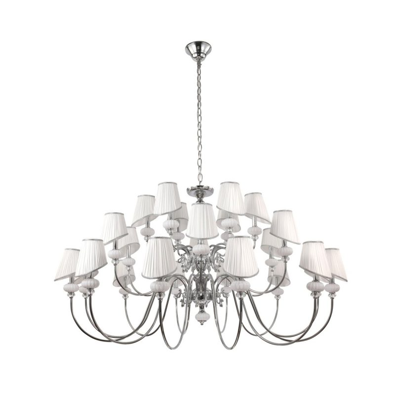 Люстра Crystal Lux ALMA WHITE SP-PL12+6+6
