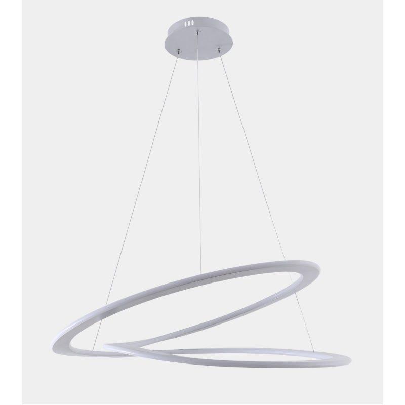 Светильник подвесной Crystal Lux AMIGO SP D750 SILVER
