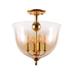 Светильник потолочный Crystal Lux ATLAS PL4 GOLD