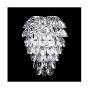 Бра Crystal Lux CHARME AP2+2 LED CHROME/TRANSPARENT