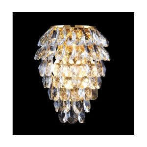 Бра Crystal Lux CHARME AP2+2 LED GOLD/TRANSPARENT