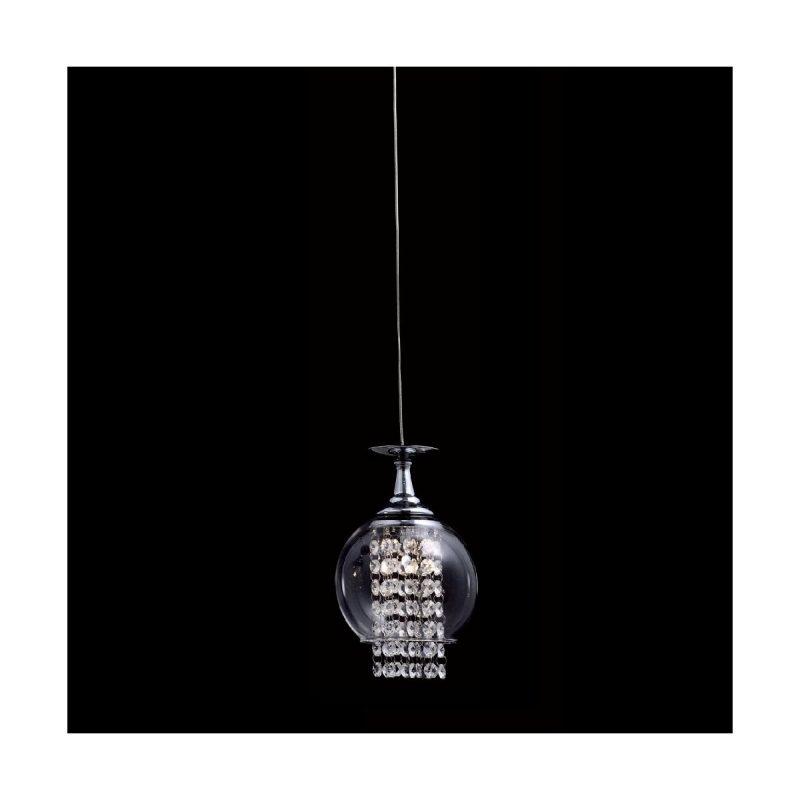 Светильник подвесной Crystal Lux CHIK SP1 CHROME