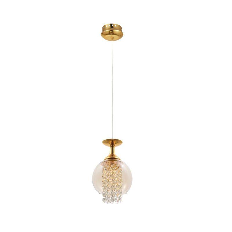 Светильник подвесной Crystal Lux CHIK SP1 GOLD