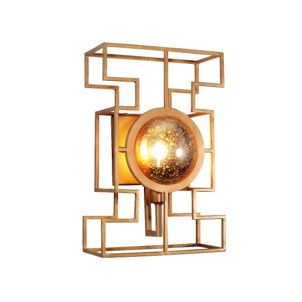 Бра Crystal Lux CUENTO AP1 GOLD