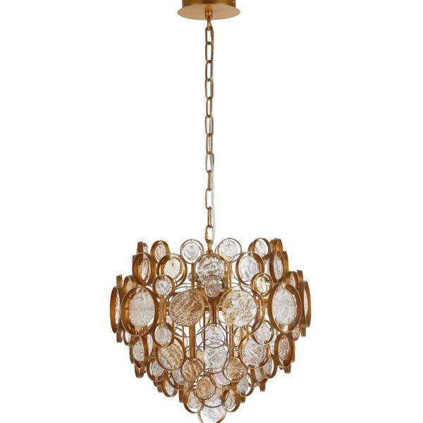 Светильник подвесной Crystal Lux DESEO SP6 D460 GOLD
