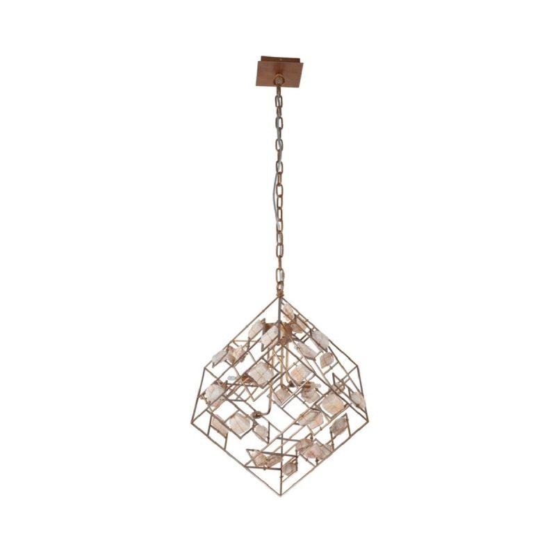 Светильник подвесной Crystal Lux DIEGO SP4 GOLD