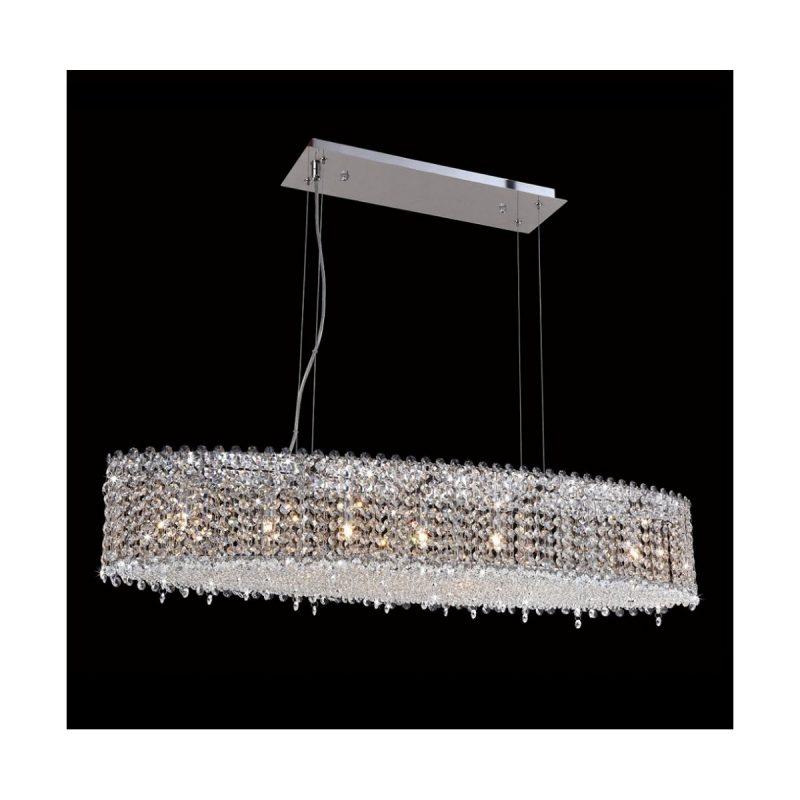 Светильник подвесной Crystal Lux ETERNIDAT SP7 CHROME