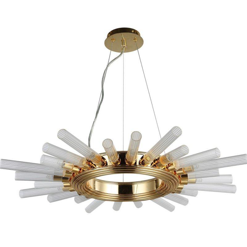 Светильник подвесной Crystal Lux FAIR SP12 GOLD D800