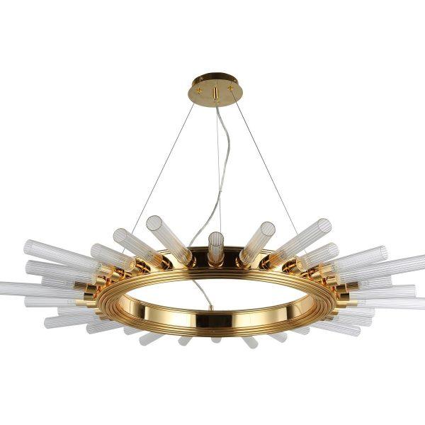 Светильник подвесной Crystal Lux FAIR SP15 GOLD D1000
