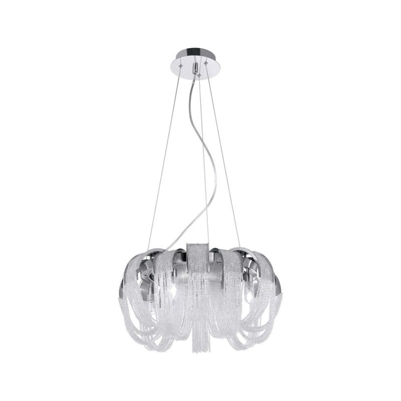 Люстра Crystal Lux HEAT SP8 CRYSTAL