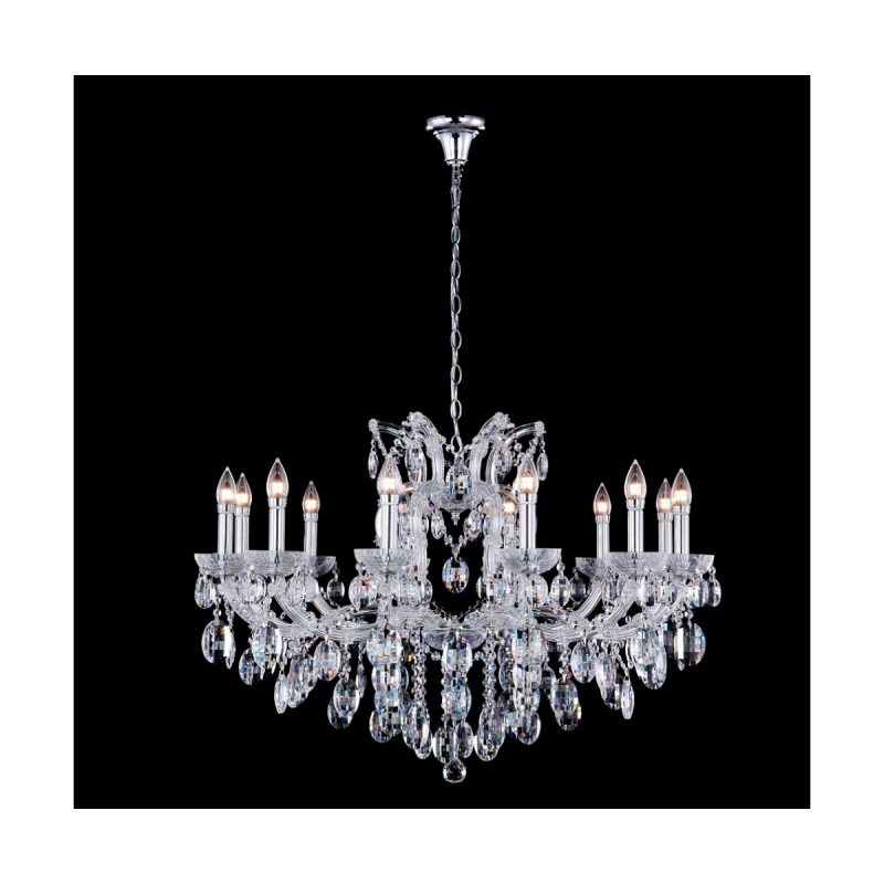 Люстра Crystal Lux HOLLYWOOD SP12 CHROME