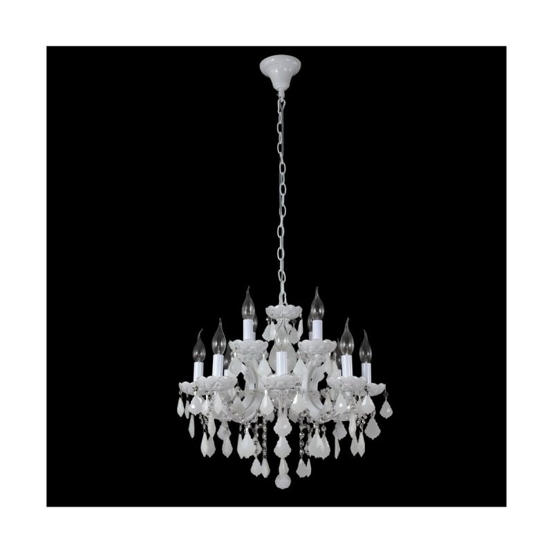 Люстра Crystal Lux INES SP8+4 WHITE