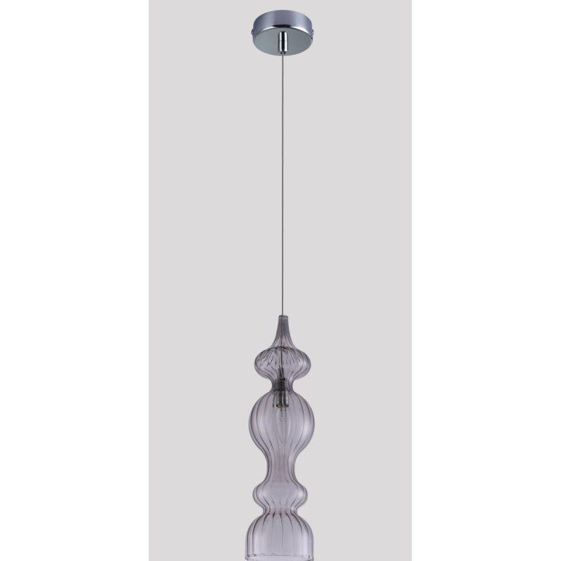 Светильник подвесной Crystal Lux IRIS SP1 A SMOKE