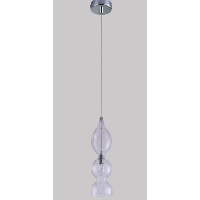 Светильник подвесной Crystal Lux IRIS SP1 B TRANSPARENT