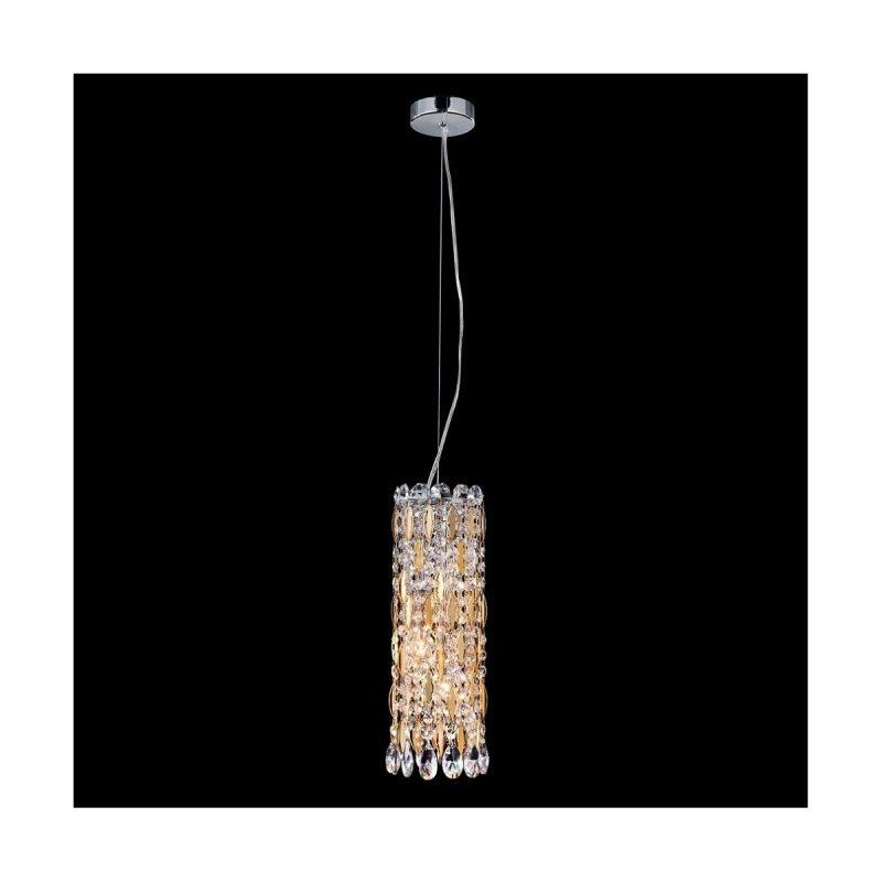 Светильник подвесной Crystal Lux LIRICA SP3 CHROME