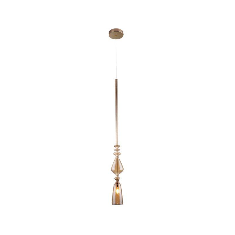 Светильник подвесной Crystal Lux LUX NEW SP1 B AMBER