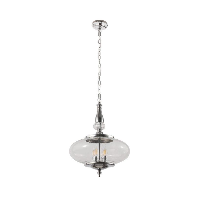 Светильник подвесной Crystal Lux MIEL SP4 CHROME