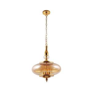 Светильник подвесной Crystal Lux MIEL SP4 GOLD