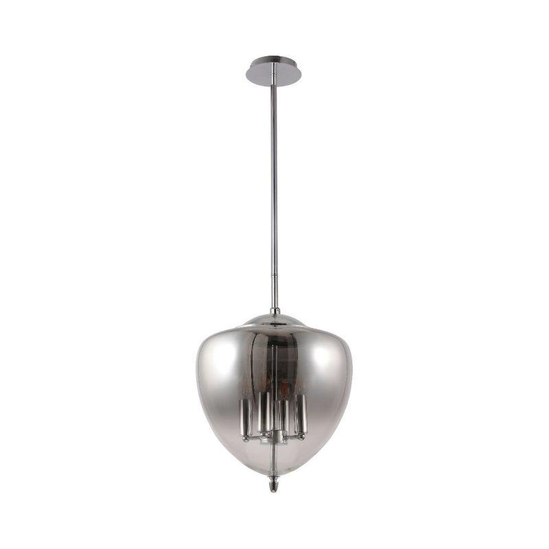 Светильник подвесной Crystal Lux MILAGRO SP4 A CHROME
