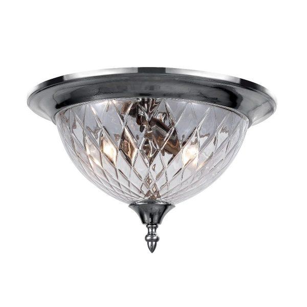 Светильник потолочный Crystal Lux NUOVO PL3 CHROME