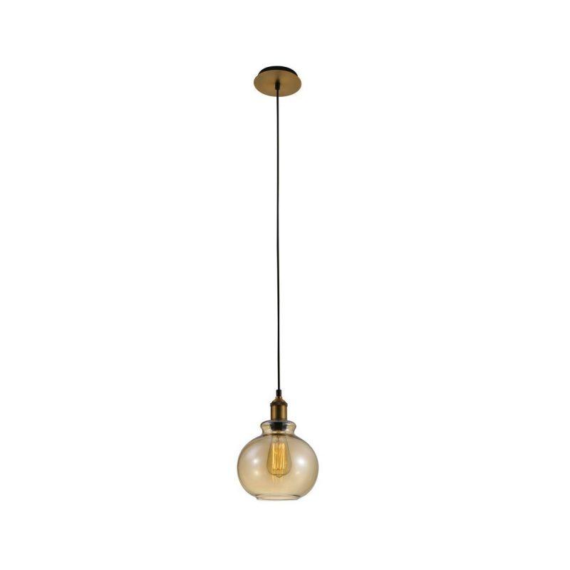Светильник подвесной Crystal Lux OLLA SP1 AMBER