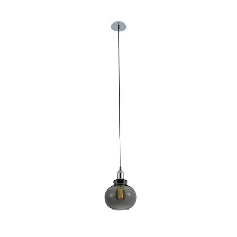 Светильник подвесной Crystal Lux OLLA SP1 SMOKE