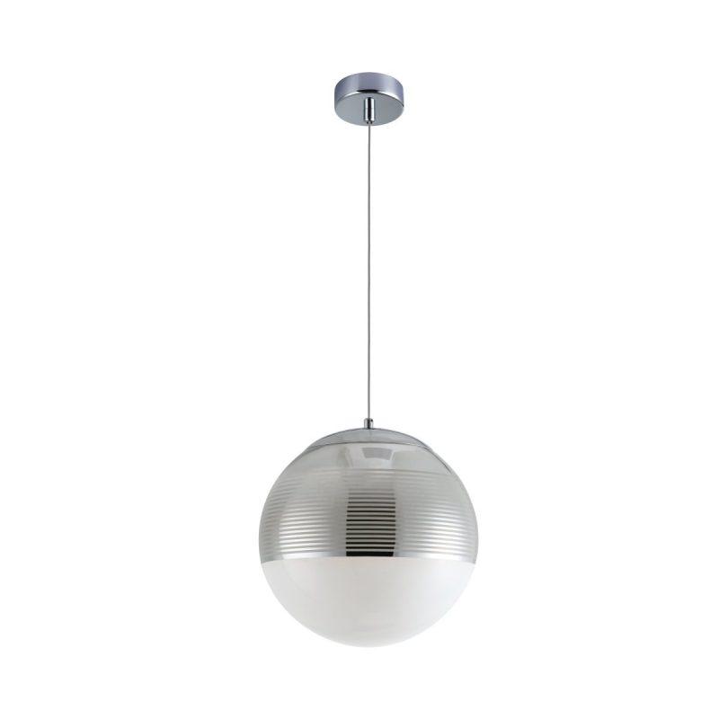 Светильник подвесной Crystal Lux OPTIMA SP1 CHROME D300