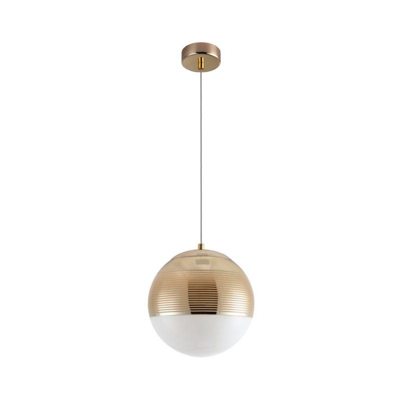 Светильник подвесной Crystal Lux OPTIMA SP1 GOLD D200