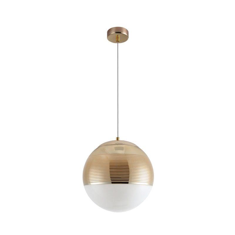 Светильник подвесной Crystal Lux OPTIMA SP1 GOLD D300