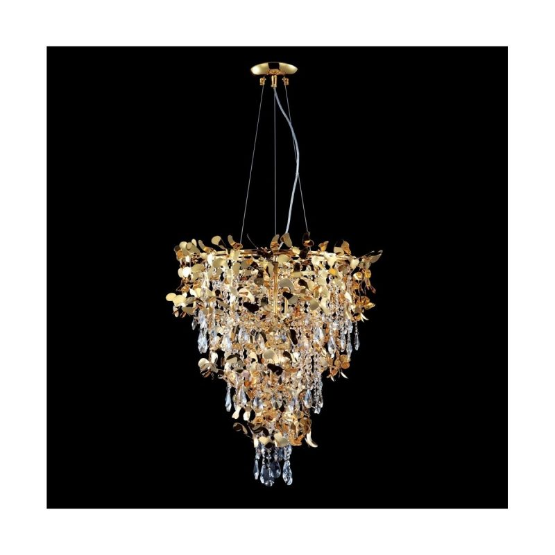 Люстра Crystal Lux ROMEO SP10 GOLD D600