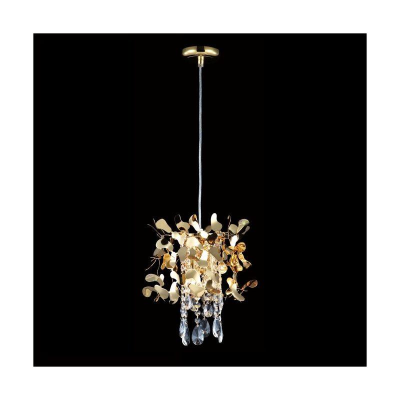 Светильник подвесной Crystal Lux ROMEO SP2 GOLD D250