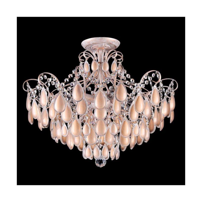 Светильник потолочный Crystal Lux SEVILIA PL6 GOLD