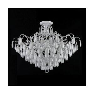 Светильник потолочный Crystal Lux SEVILIA PL9 SILVER