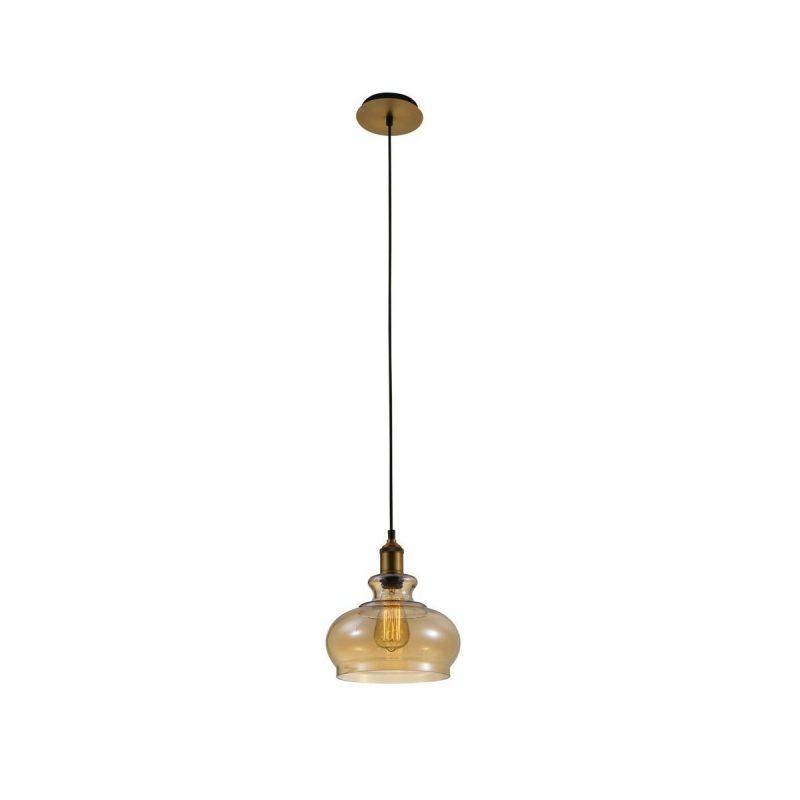 Светильник подвесной Crystal Lux SONNETTE SP1 AMBER