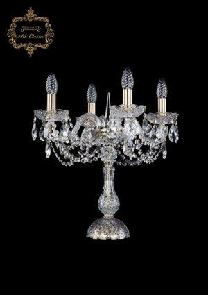 Настольная лампа бесцветный хрусталь 12.11.4.141-45.Br.Sp