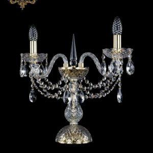 Настольная лампа бесцветный хрусталь 12.12.2.141-37.Gd.Sp