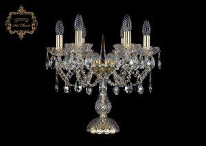 Настольная лампа бесцветный хрусталь 12.21.6.141-37.Gd.Sp