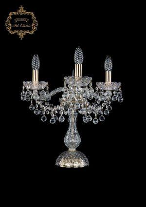 Настольная лампа бесцветный хрусталь 12.26.3.141-37.Br.B