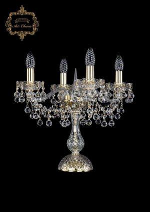 Настольная лампа бесцветный хрусталь 12.26.4.141-37.Gd.B