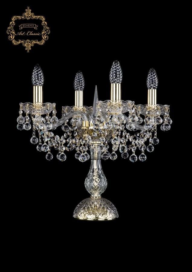 Настольная лампа бесцветный хрусталь 12.26.4.141-45.Gd.B
