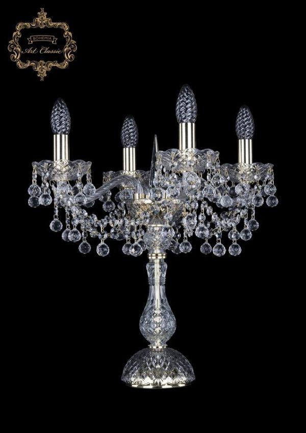 Настольная лампа бесцветный хрусталь 12.26.4.141-47.Gd.B