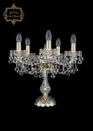 Настольная лампа бесцветный хрусталь 12.26.5.141-37.Gd.B