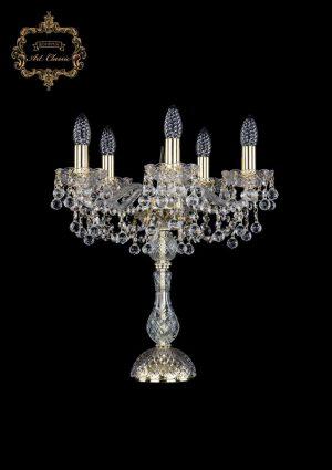 Настольная лампа бесцветный хрусталь 12.26.5.141-45.Gd.B