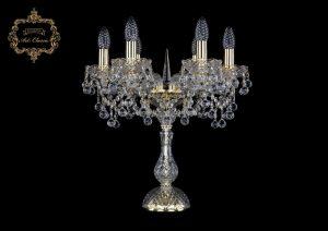 Настольная лампа бесцветный хрусталь 12.26.6.141-45.Gd.B