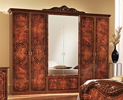Итальянская спальня «ДЖУЛИАНА» 6-ти дверный комплект