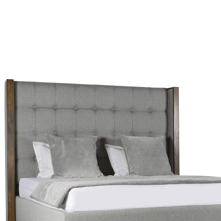 Кровать BERKLEY WINGED BOX TUFTED WOOD BED COLLECTION
