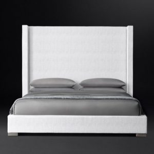 Кровать MODENA SHELTER VERTICAL CHANNEL FABRIC PLATFORM BED