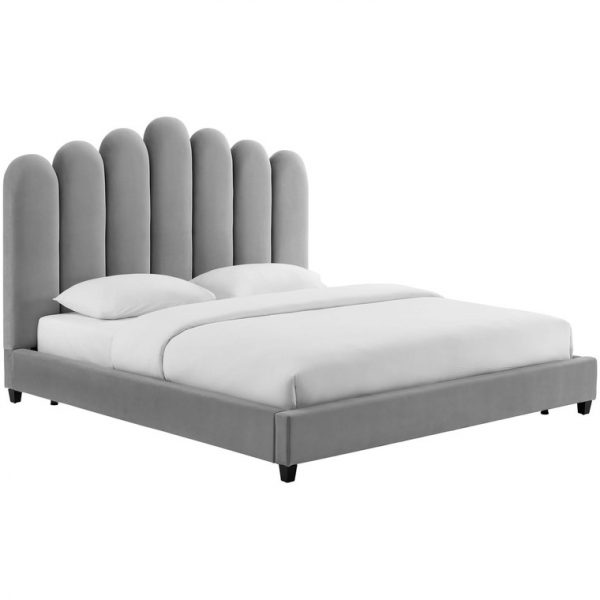 Кровать CELINE BED GREY