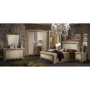 Итальянская спальня «КАТЯ»  Беж, Черная