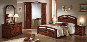 Итальянская спальня «ЛИЛИЯ» Орех